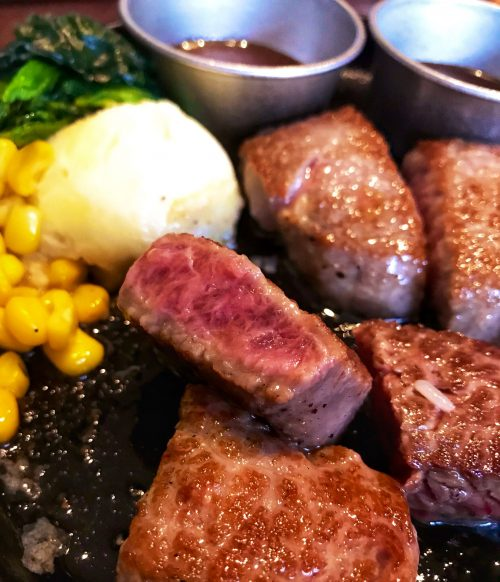 魔法のステーキの肉